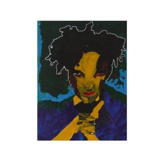 Pop Art Original Painting of a Man