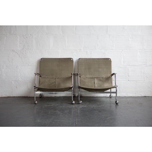 Bruno Mathsson 1960s Karin Rolling Chairs - A Pair - Image 2 of 7