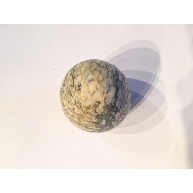 Image of Signed/Numbered Decorative Vintage Marble Egg