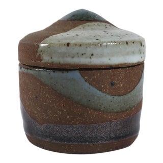 Mid-Century Lidded Studio Pottery
