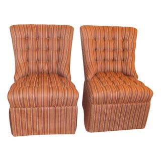 Robert Allen Custom Vintage Chairs - A Pair
