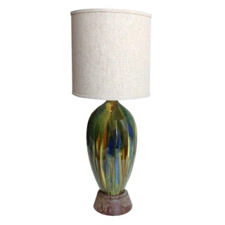 Large Vintage Drip Lamp