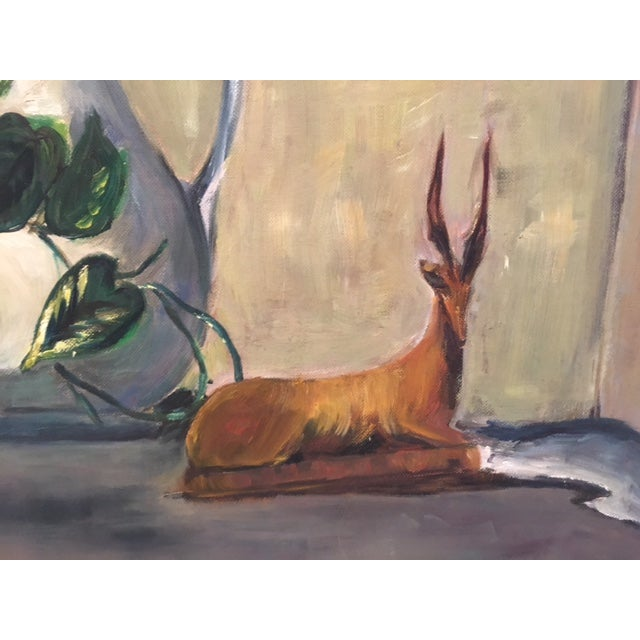 Vintage Still Life Painting - Image 3 of 6