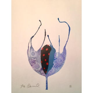 """Ladybug"" Original Watercolor Painting"