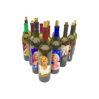 Marilyn Monroe Wine Bottle Collection - Set of 13