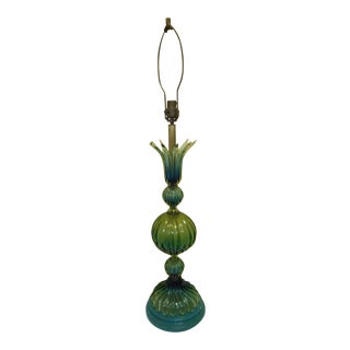 Murano Glass Lamp by Barovier Toso