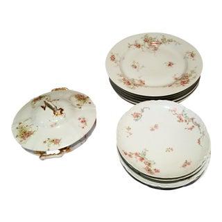 Haviland Limoges Assorted Dishes - Set of 13