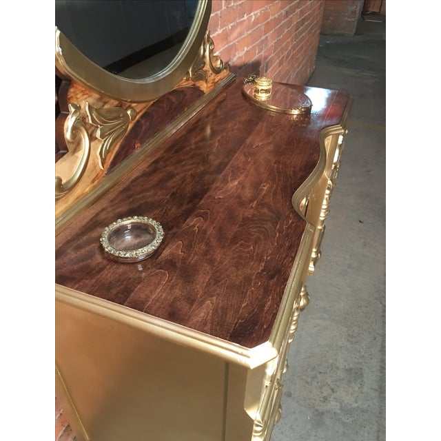 1920s Art Deco Vanity Table with Seat - Image 7 of 10
