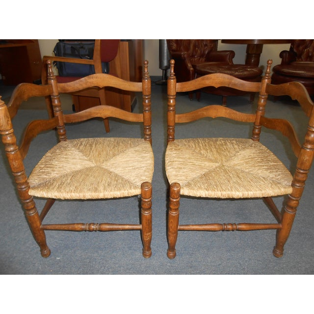 Corner Chairs - A Pair - Image 8 of 9