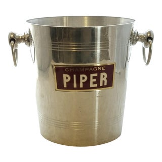 French Piper Champagne Ice Bucket
