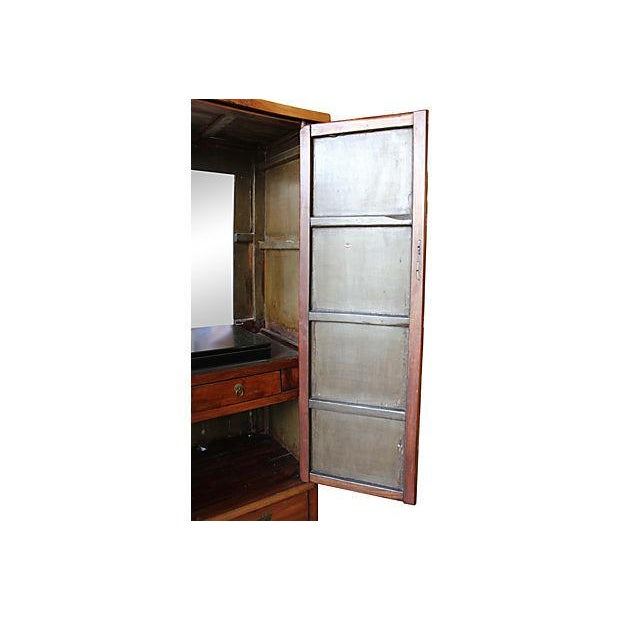19th Century Antique Chinese Armoire - Image 4 of 5