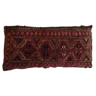 Vintage Rug Remnant Floor Pillow