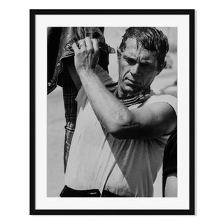 """Steve McQueen"" Framed Photography by John Loomis"