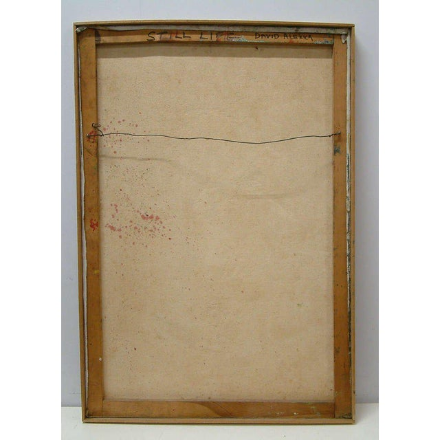 "David Alexick ""Still Life"" Oil on Canvas - Image 5 of 7"