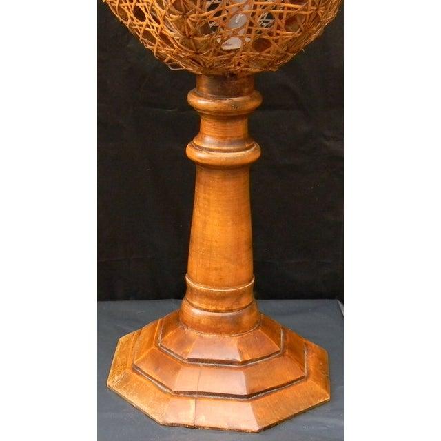 Vintage Italian Pedestal Hand Caned Flower Urn - Image 3 of 10