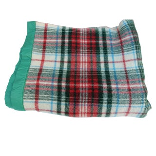 Green Classic Plaid Blanket