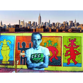 """Keith Haring Lives"" Street Art Photograph"