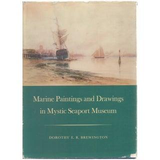 Vintage 'Marine Pantings & Drawings' Book