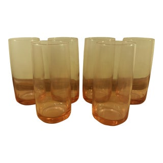 Pink Depression Drinking Glasses - Set of 6
