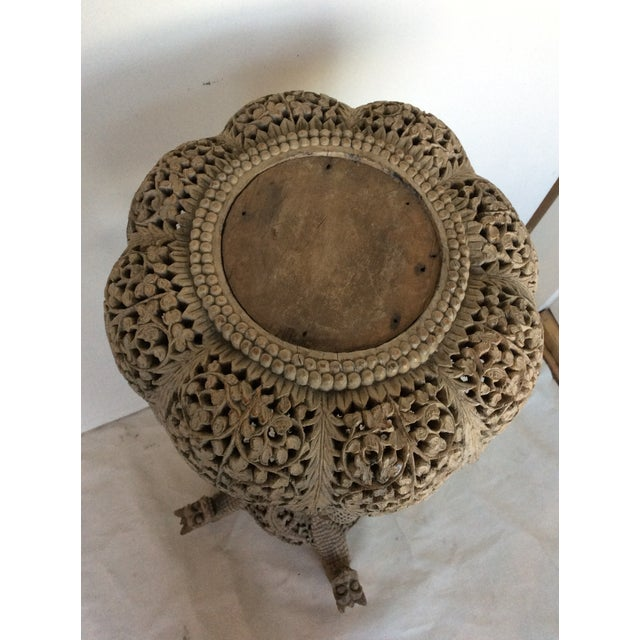 Vintage Anglo Indian Pedestal - Image 7 of 9
