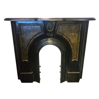 Victorian Cast Iron Mantel Piece