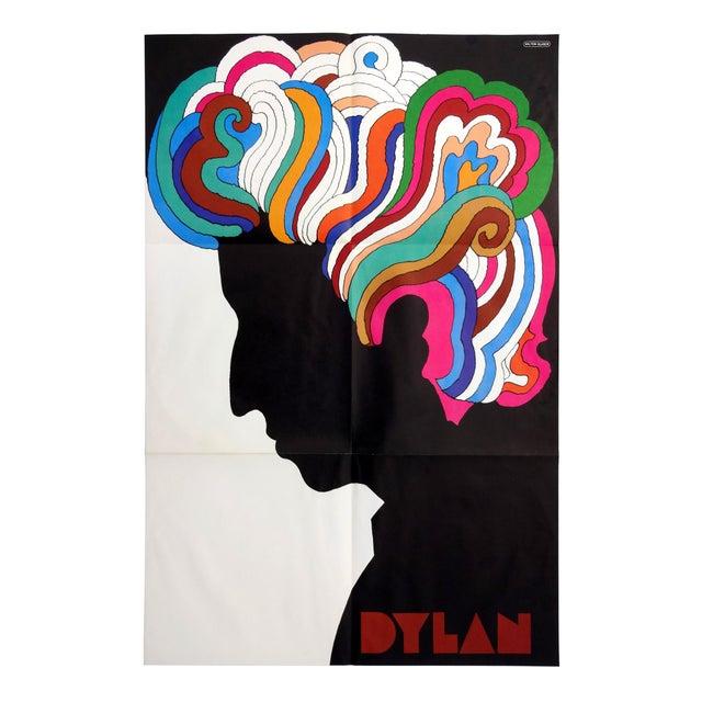 """Image of Milton Glaser Vintage 1966 """"Dylan"""" Poster"""