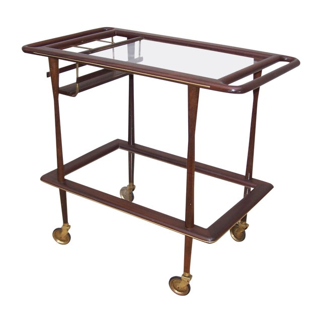 1950s Cesare Lacca Italian Bar Cart - Image 1 of 9