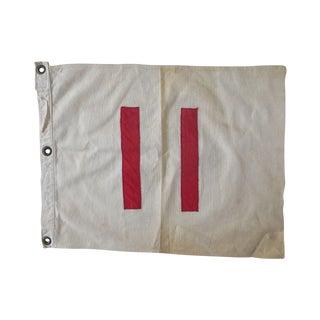 Golf Hole No. 11 Flag