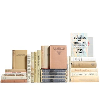 Midcentury Philosophy Books: A Collection of Thoughts, S/25