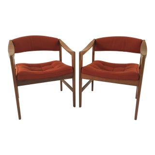 Dux Danish Modern Side Chairs - Pair