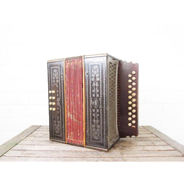 Vintage Beaver Melodeon Accordion - Image 2 of 7