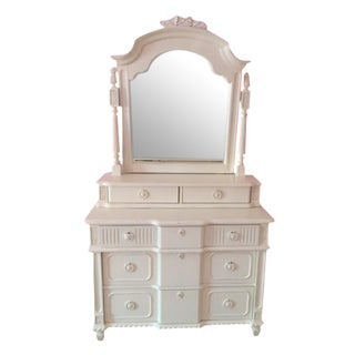 Thomasville Emilia Collection Dresser With Tilting Mirror