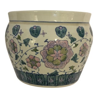 Colorful Chinese Ceramic Jardiniere