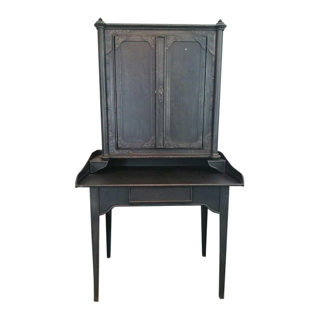 Restoration Hardware French Iron Secretary - Image 1 of 3