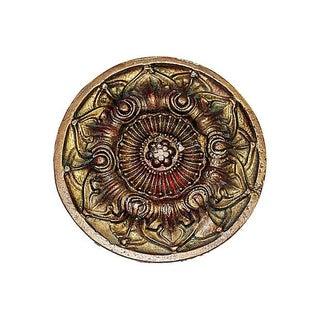 24K Gold Plated French Bronze Doré Medallion