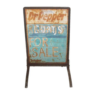 Mid West Metal Advertising Sign