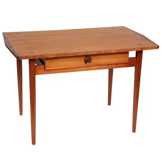 Hand Crafted Side Table with Drawer by John Kapel