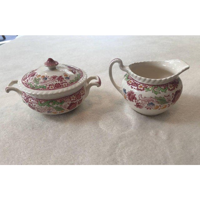 Winchester Johnson Bros China Set - Service for 12 - Image 6 of 9