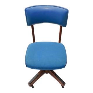 Mid-Century Gunlocke Office Chair