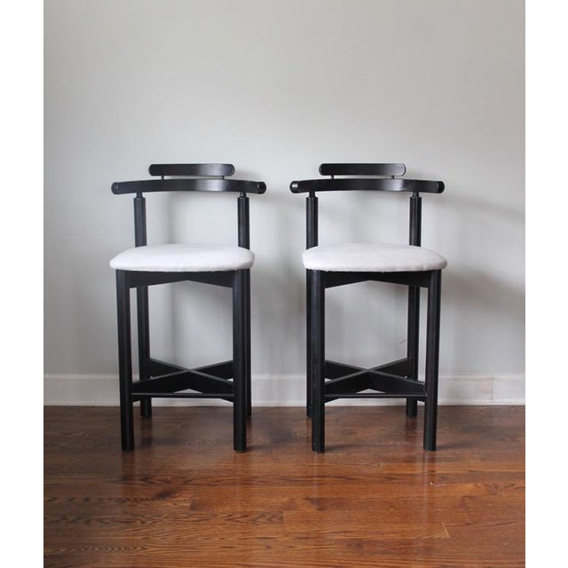 Mid-Century Modern Gangso Mobler Bar Stools - A Pair - Image 2 of 5