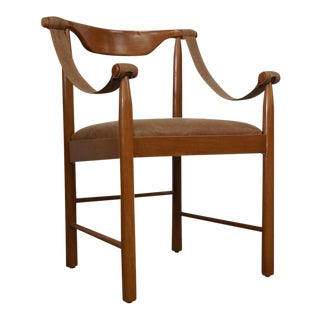 Safari Danish Mahogany Chair