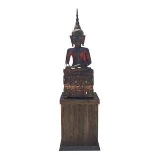 Asian Buddha on Plinth