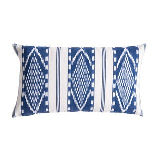 Naturally Dyed Indigo Pillow