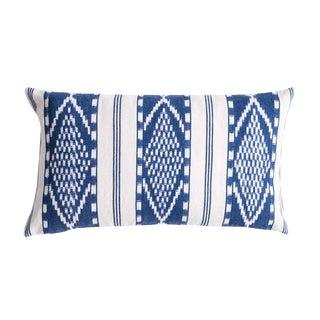 Naturally Dyed Indigo Pillow