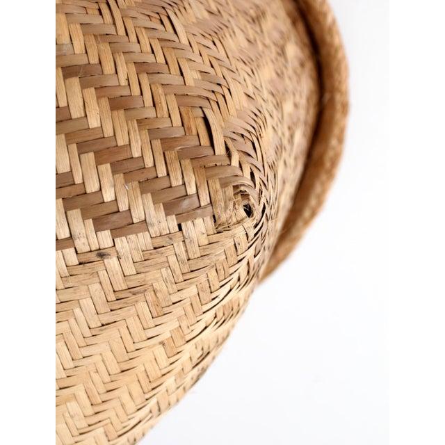 Vintage Indonesian Basket - Image 7 of 9