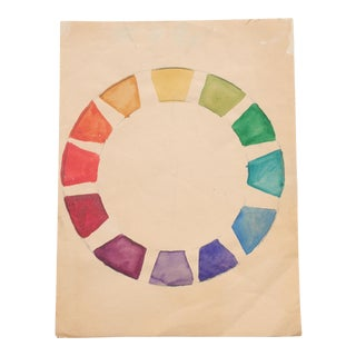 Watercolor Color Wheel by Kathryn Bernard