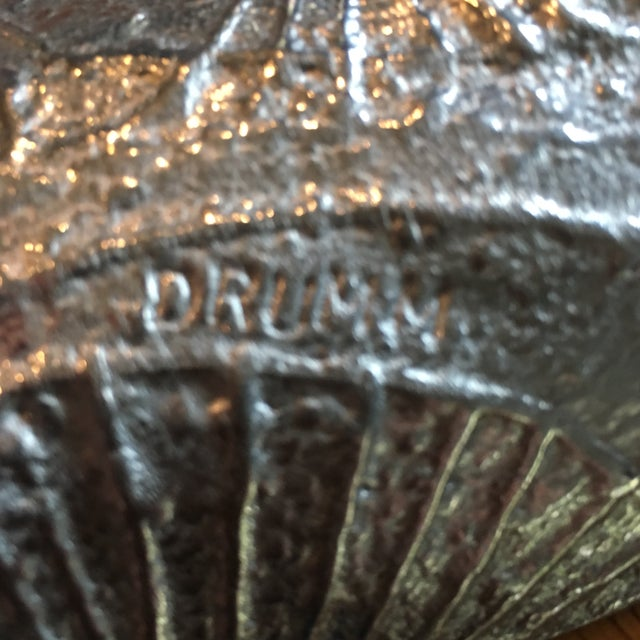 Image of Don Drumm Mid-Century Cast Aluminum Tray