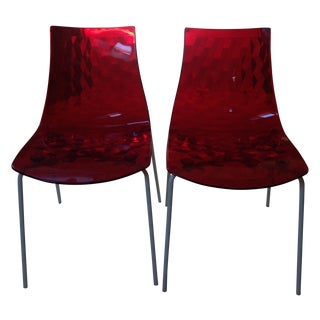 Calligaris Ice Chairs - A Pair