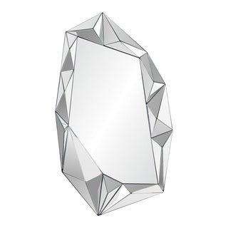 Assymetrical 3D Modern Glass Mirror