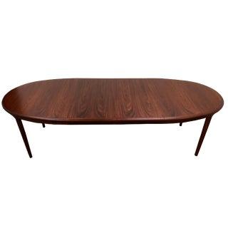 Gudme Mobelfabrik Rosewood Oval Dining Table